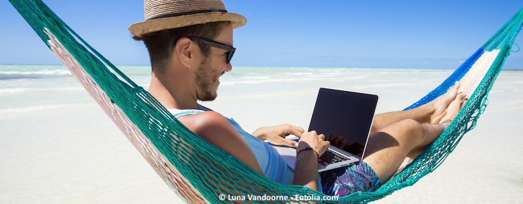Ortsunabhängig arbeiten: Guide für digitale Nomaden